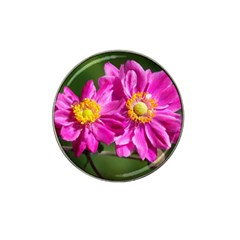 Flower Golf Ball Marker 4 Pack (for Hat Clip) by Siebenhuehner