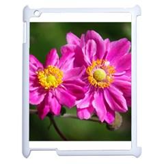 Flower Apple Ipad 2 Case (white) by Siebenhuehner