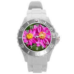 Flower Plastic Sport Watch (large) by Siebenhuehner