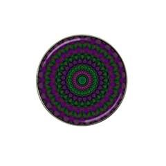 Mandala Golf Ball Marker (for Hat Clip) by Siebenhuehner