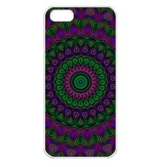 Mandala Apple iPhone 5 Seamless Case (White)