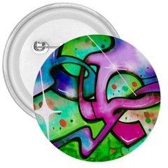 Graffity 3  Button by Siebenhuehner