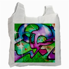 Graffity Recycle Bag (two Sides) by Siebenhuehner