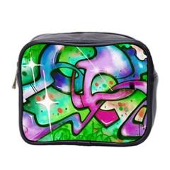 Graffity Mini Travel Toiletry Bag (two Sides) by Siebenhuehner