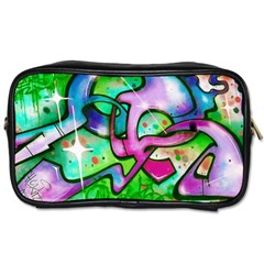 Graffity Travel Toiletry Bag (one Side) by Siebenhuehner
