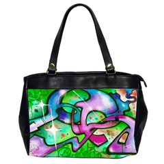 Graffity Oversize Office Handbag (two Sides) by Siebenhuehner