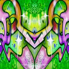 Graffity Canvas 20  X 20  (unframed) by Siebenhuehner