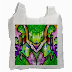 Graffity Recycle Bag (one Side) by Siebenhuehner
