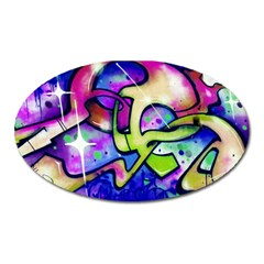 Graffity Magnet (oval) by Siebenhuehner