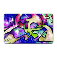Graffity Magnet (rectangular) by Siebenhuehner