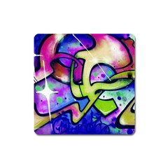 Graffity Magnet (square) by Siebenhuehner