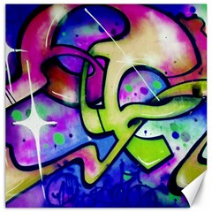 Graffity Canvas 16  X 16  (unframed) by Siebenhuehner