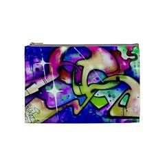 Graffity Cosmetic Bag (medium) by Siebenhuehner