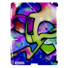 Graffity Apple Ipad 3/4 Hardshell Case (compatible With Smart Cover) by Siebenhuehner