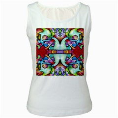 Graffity Womens  Tank Top (white) by Siebenhuehner