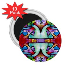 Graffity 2 25  Button Magnet (10 Pack) by Siebenhuehner