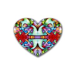 Graffity Drink Coasters (heart) by Siebenhuehner