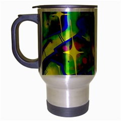 Graffity Travel Mug (silver Gray) by Siebenhuehner