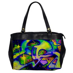 Graffity Oversize Office Handbag (one Side) by Siebenhuehner