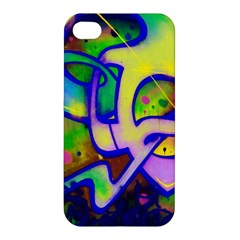 Graffity Apple Iphone 4/4s Premium Hardshell Case by Siebenhuehner