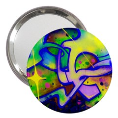 Graffity 3  Handbag Mirror by Siebenhuehner