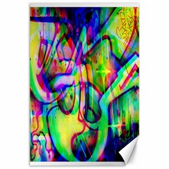 Graffity Canvas 24  X 36  (unframed) by Siebenhuehner