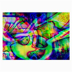Graffity Glasses Cloth (large, Two Sided) by Siebenhuehner