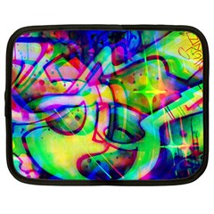 Graffity Netbook Sleeve (large) by Siebenhuehner