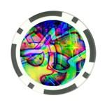 Graffity Poker Chip (10 Pack) Back