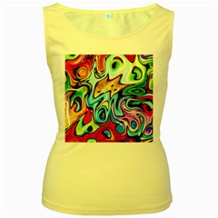 Graffity Womens  Tank Top (yellow) by Siebenhuehner