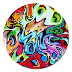 Graffity Magnet 5  (round) by Siebenhuehner