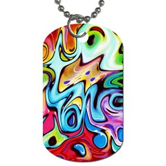 Graffity Dog Tag (one Sided) by Siebenhuehner