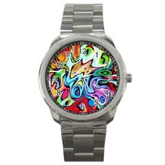 Graffity Sport Metal Watch