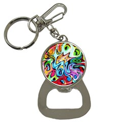 Graffity Bottle Opener Key Chain by Siebenhuehner