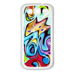 Graffity Samsung Galaxy S3 Back Case (White)