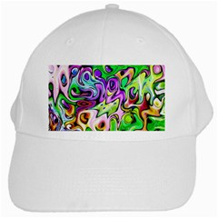 Graffity White Baseball Cap by Siebenhuehner