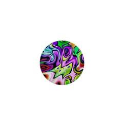 Graffity 1  Mini Button Magnet by Siebenhuehner