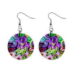 Graffity Mini Button Earrings by Siebenhuehner