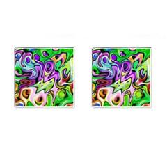 Graffity Cufflinks (square) by Siebenhuehner