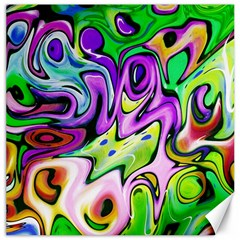 Graffity Canvas 12  X 12  (unframed) by Siebenhuehner
