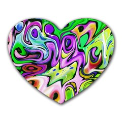 Graffity Mouse Pad (heart) by Siebenhuehner