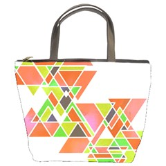 Triangle Pillow Bucket Handbag by ILANA