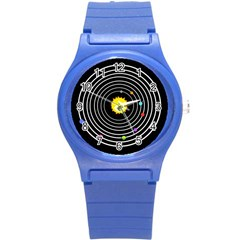 Solar System Plastic Sport Watch (Small) by PaolAllen2