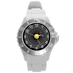 Solar System Plastic Sport Watch (Large) by PaolAllen2