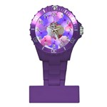 Floral Love Nurses Watch