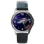 SPACE CUSTOM DESIGN UNISEX LEATHER BAND WATCH