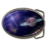 SPACE PHOTO CUSTOM DESIGN BELT BUCKLE