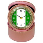 Nigeria Flag Jewelry Case Clock