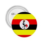 Uganda Flag 2.25  Button
