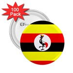 Uganda Flag 2.25  Button (100 pack)